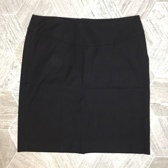 Banana Republic Dresses & Skirts - Banana Republic Black Stretch Pencil Skirt | 14